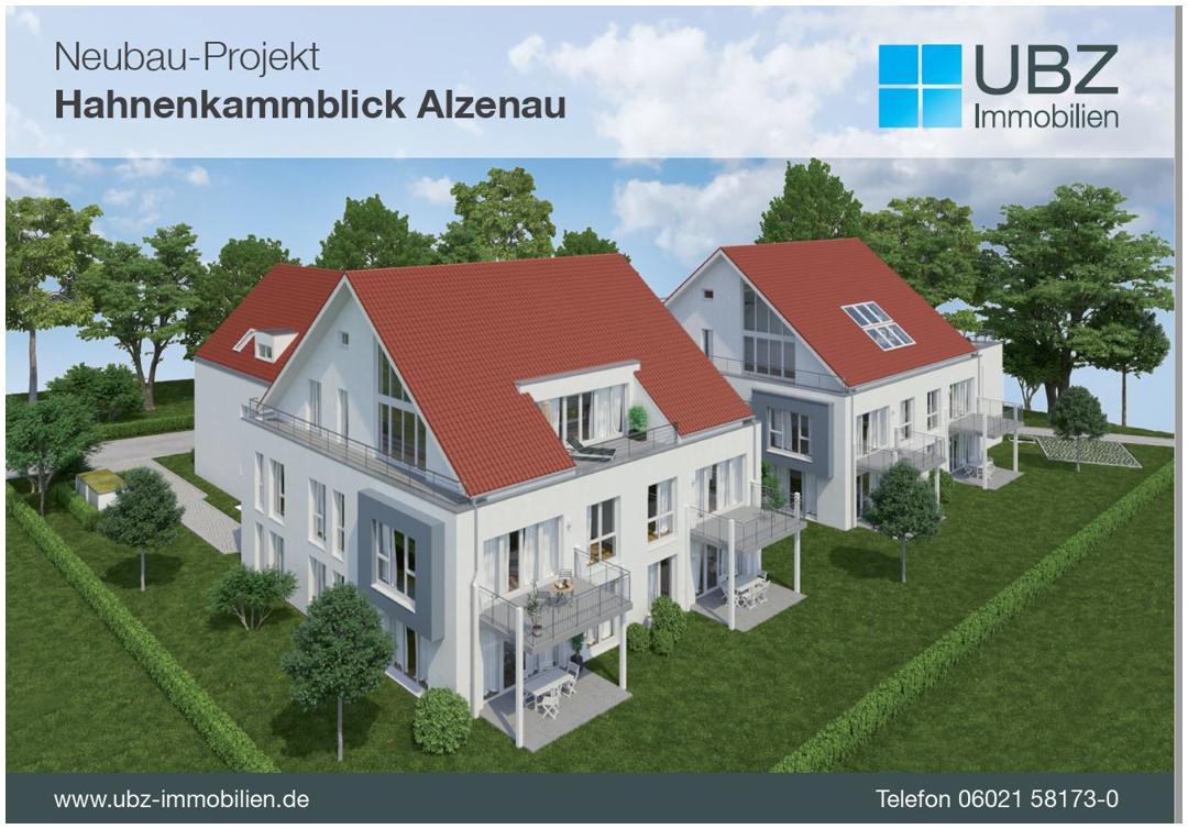 """Neubauwohnung """"Hahnenkammblick"""" in Alzenau – Wohnung 1"""